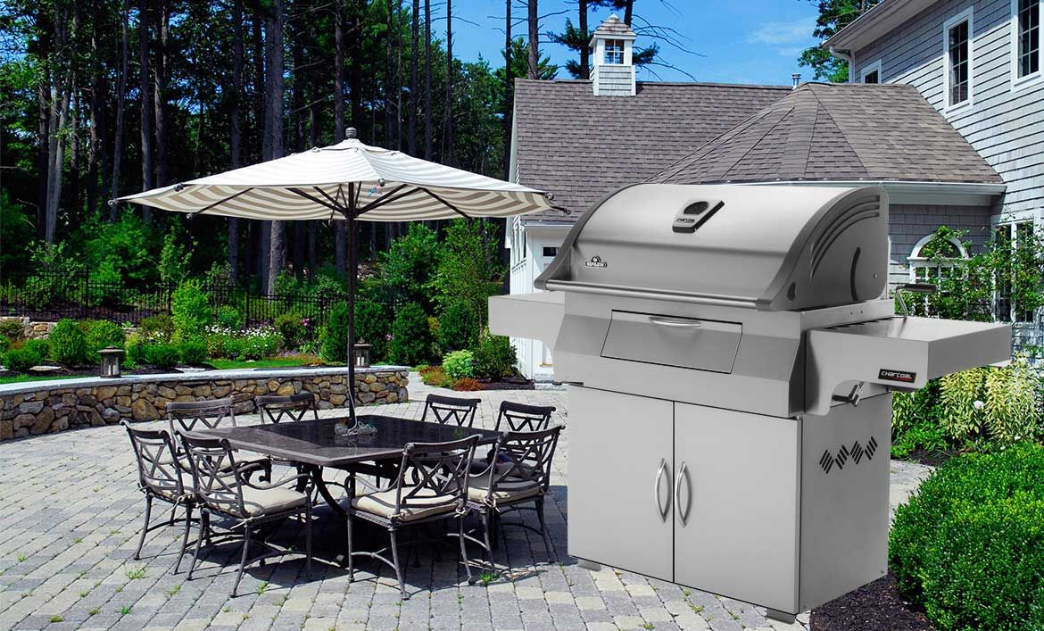 Charcoal professional grill grilling outdoor grills