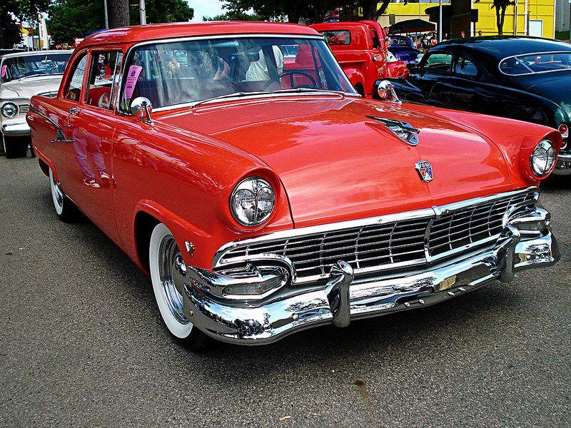 Mainline...56 Car show, Chrome plating, Ford