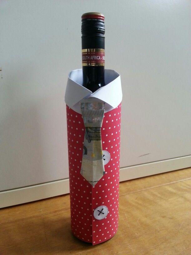 Kado idee om geld te geven aan een man wijn liefhebber for Leuke ideeen om geld kado te geven