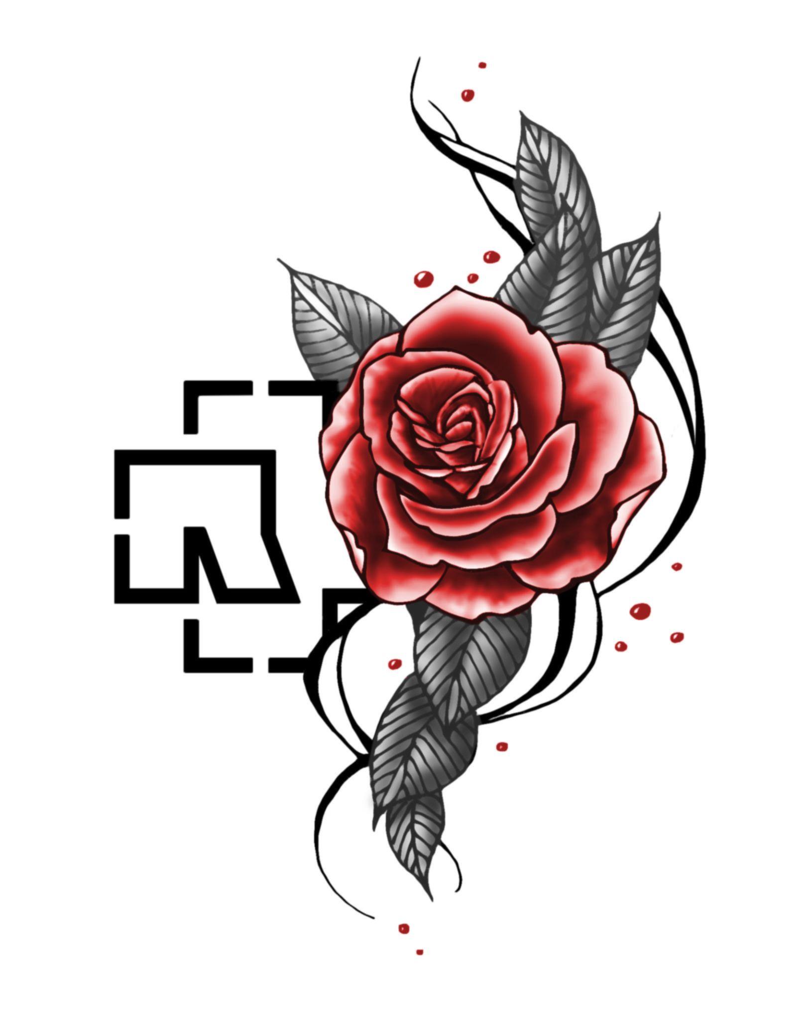 rammstein rosenrot tattoo idea tattoo pinterest tattoo vorlagen tattoo ideen und m nner. Black Bedroom Furniture Sets. Home Design Ideas
