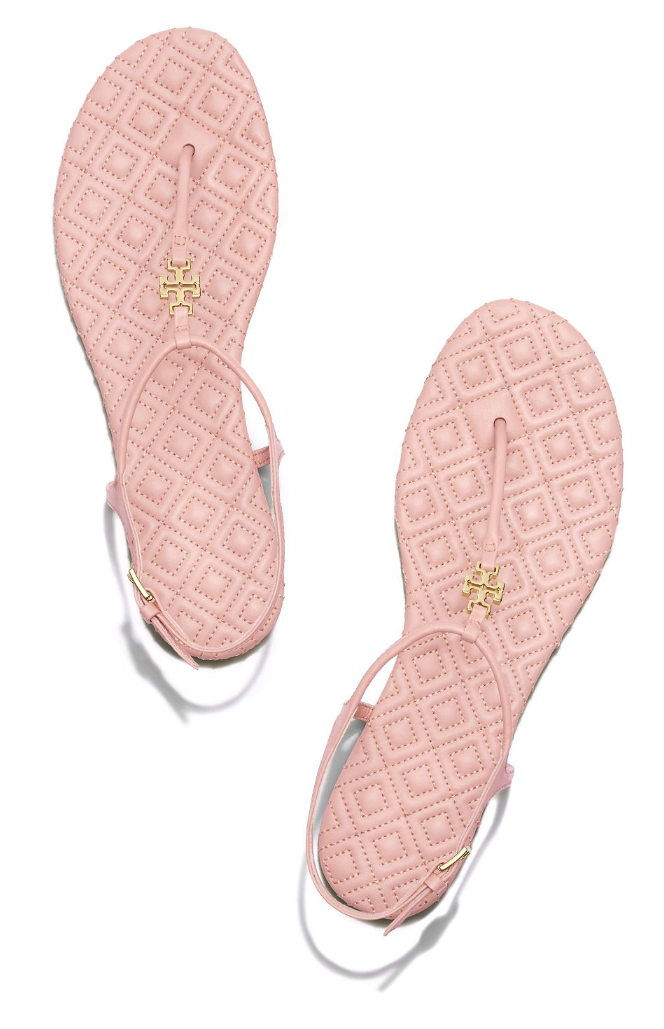 d35ccbd0a4f Tory Burch Marion Quilted Sandal