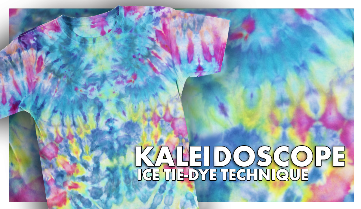 Kaleidoscope Ice Tie Dye Tutorial Shows You How Easy It Is To Use Tulip Tie Dye To Create Cool Tie Dye Patterns Diy Tie Dye Tutorial Tie Dye Techniques Pattern