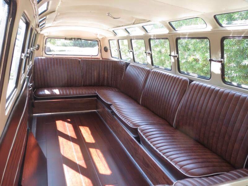Interior Of Stretch Vw Microbus