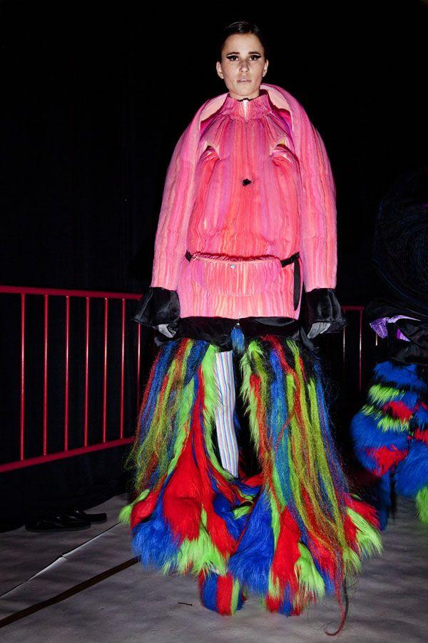 Royal Academy of fine Arts Artesis Hogeschool Antwerpen: Show 2012 Backstage