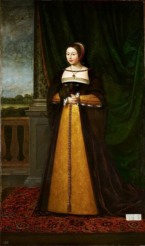 Margaret Tudor, Queen of Scotland (1489-1541) The Royal - collection note