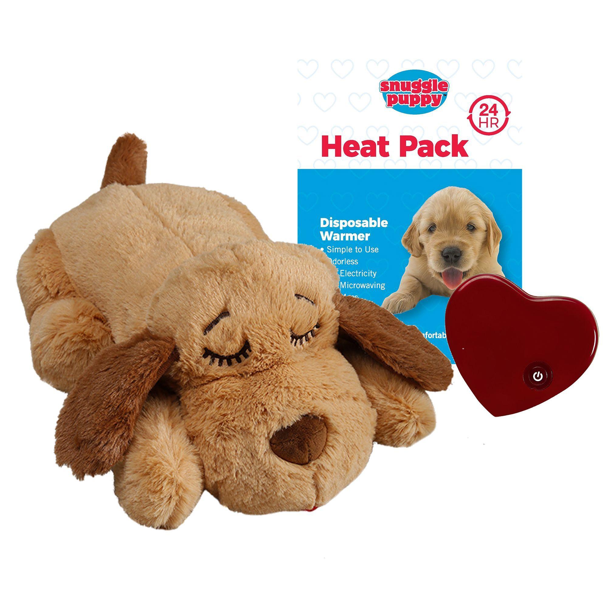 Smart Pet Love Snuggle Puppy Behavioral Aid Dog Toy Black