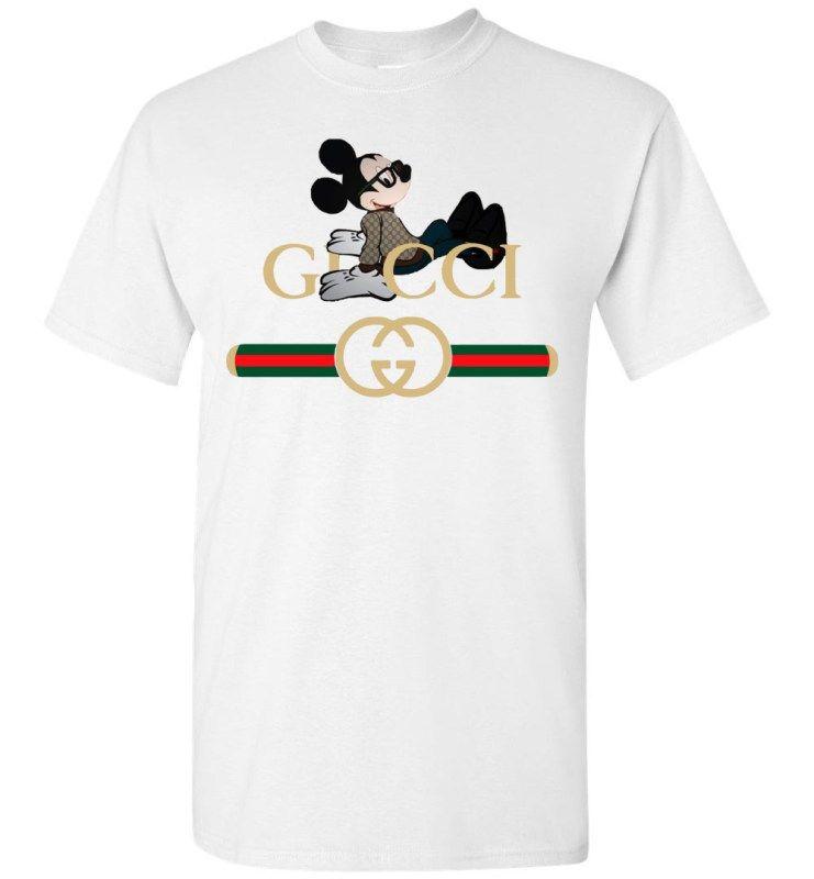 8bd16ffccad Gucci Mickey Mouse Best Men s T-Shirt en 2019