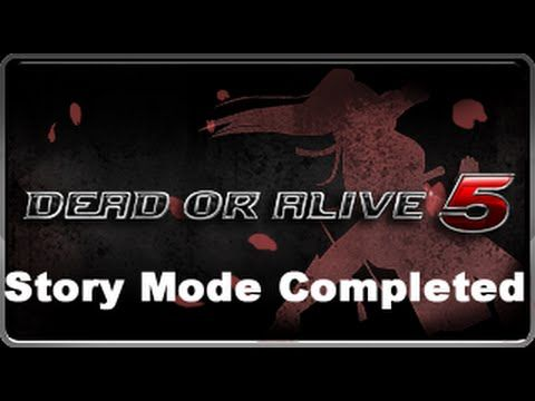 PS3] Dead or Alive 5 *Story Completed+All Characters Unlocked Save
