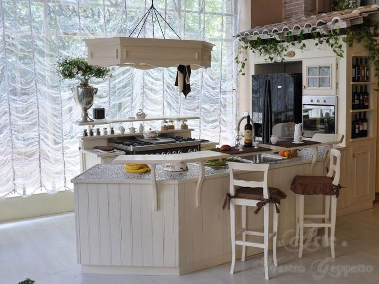 Cucine shabby chic 50 idee per arredare casa in stile for Idee per arredare casa stile country