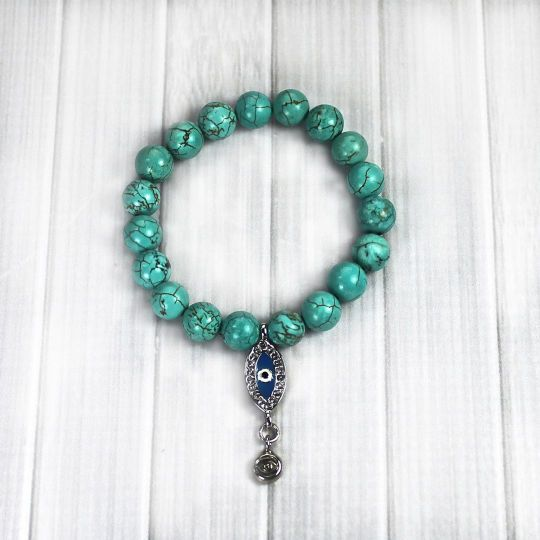 Create your own Evil Eye Bracelet and protect yourself from