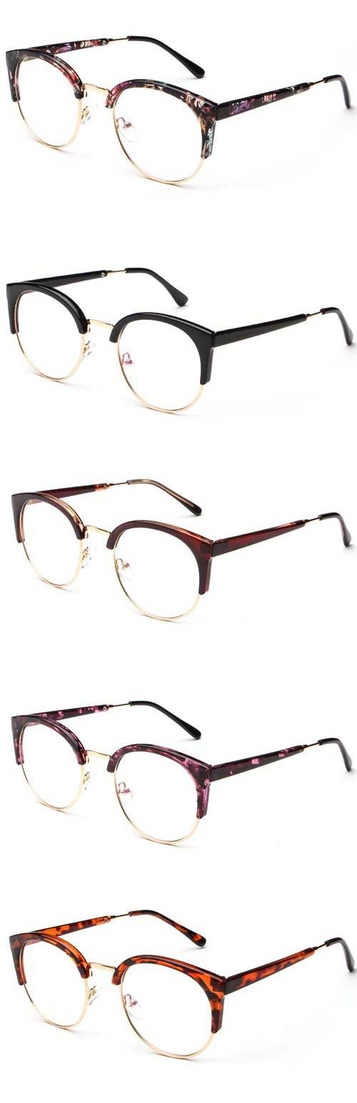 Cupshe Mix Color Semi-rimless Glasses