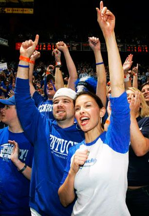 UK super fan Ashley Judd
