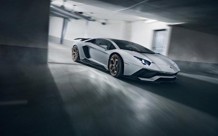 Download Wallpapers 4k, Novitec Torado Lamborghini Aventador S, Tuning,  2018 Cars, Supercars