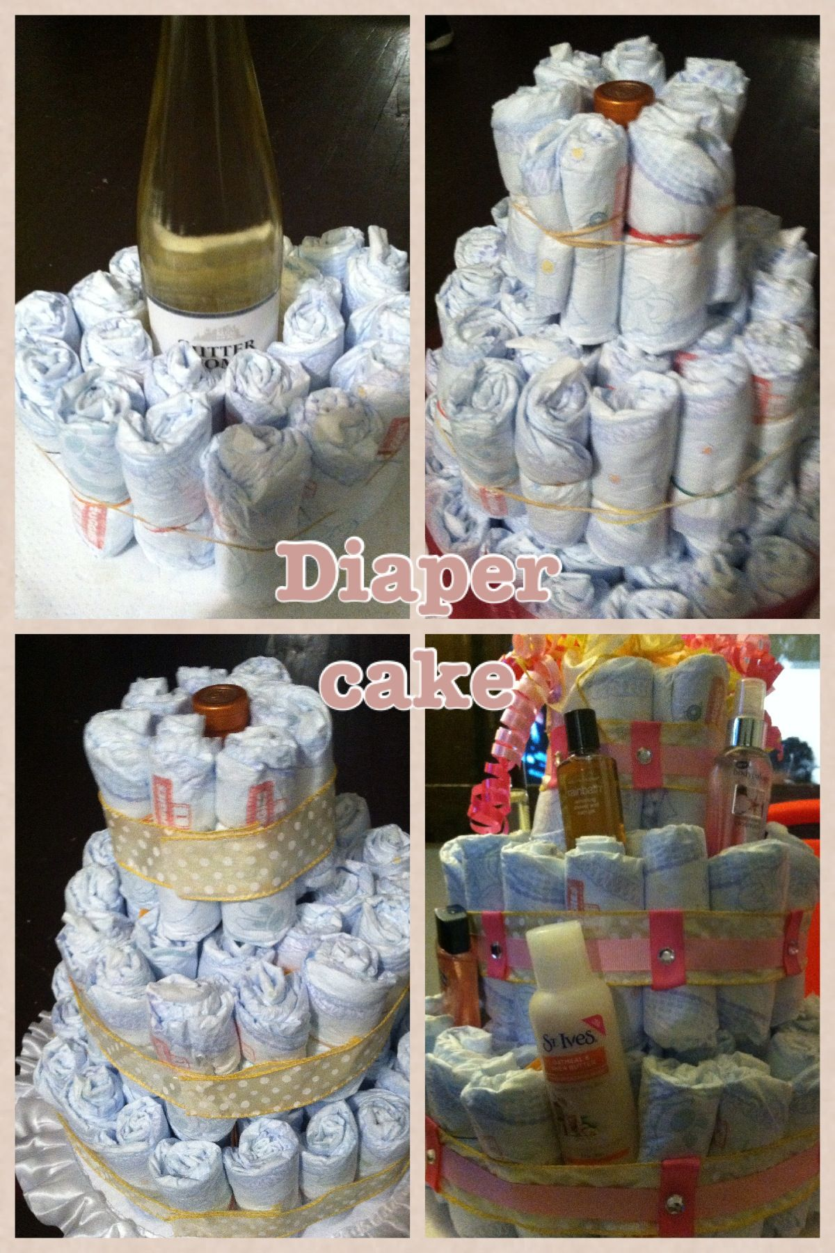 Diaper Cake For Baby Shower Ruffled Cake Plate 5 99 At
