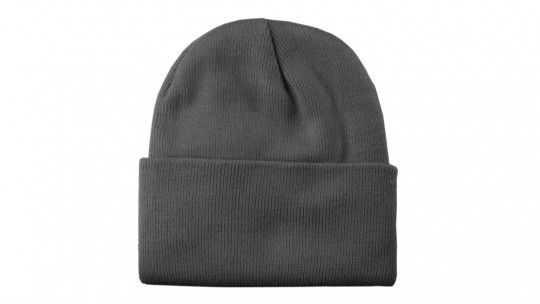 cuffed beanie flat template available on mockupeverything com