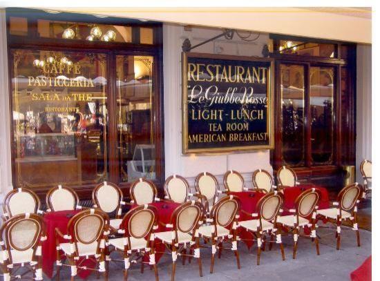 Gran Caffe Giubbe Rosse, Florence http://www.giubberosse ...