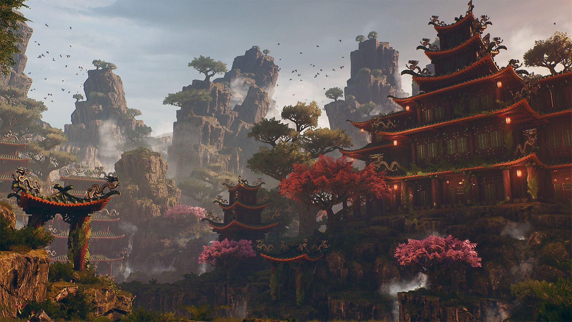 Crafting a Japanese Fantasy Environment Fantasy