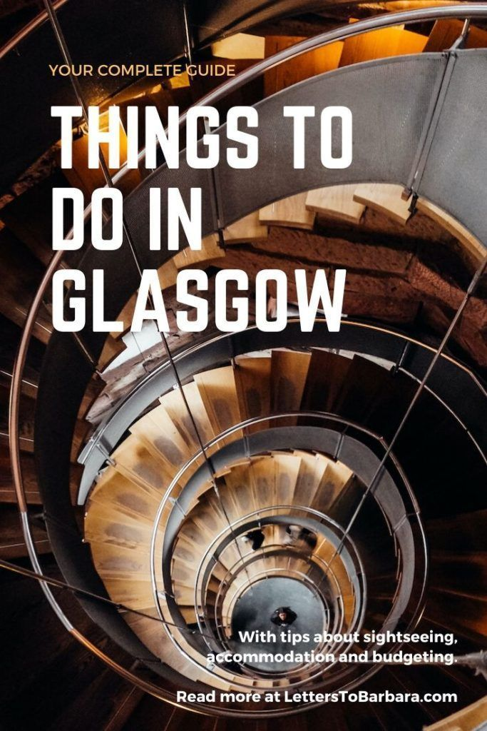 Glasgow is Scotland's most interesting city. I spent a week in the city and I wrote a very comprehensive guide. The guide includes the best things to do in Glasgow as well as tips for accommodation, budgeting, and day trips. #Glasgow #Brexit #Scotland #traveltips #destinations #UK