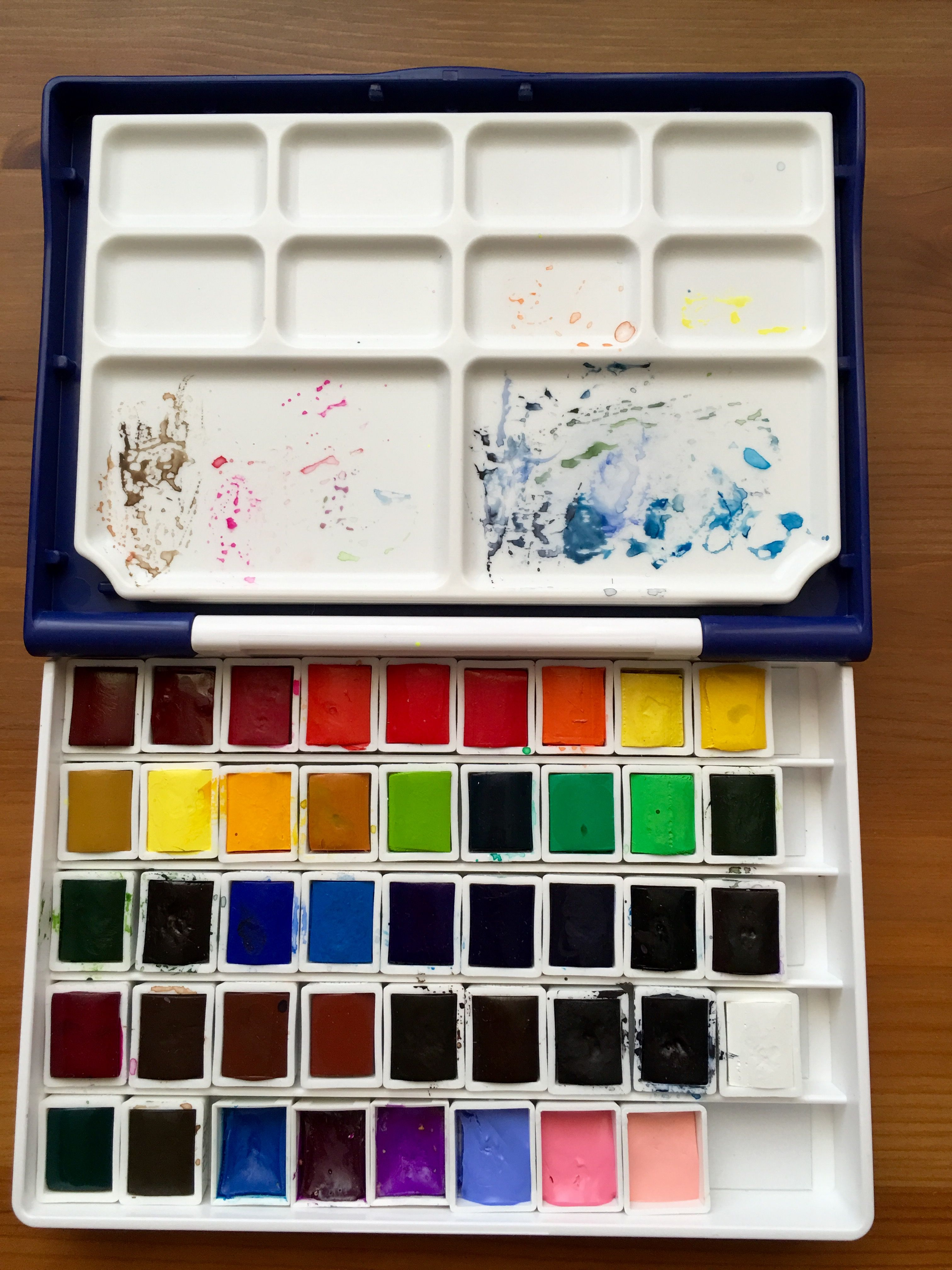 Doodlewash Review Holbein Watercolors Materiales De Dibujo Y