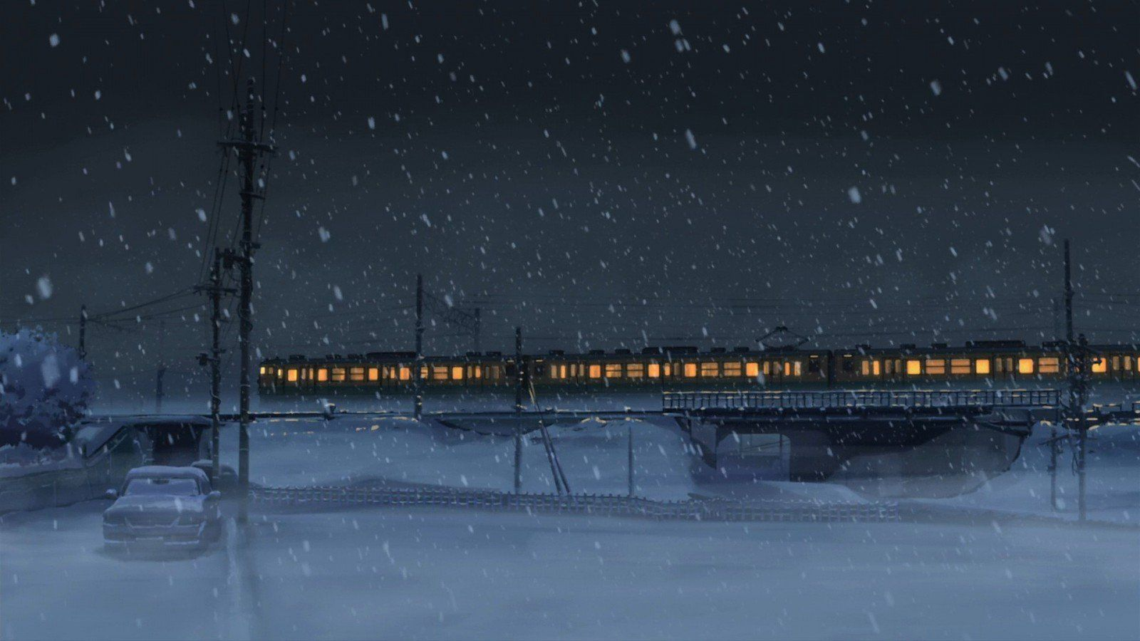 Irène DB on in 2020 Anime snow, Anime scenery, Scenery