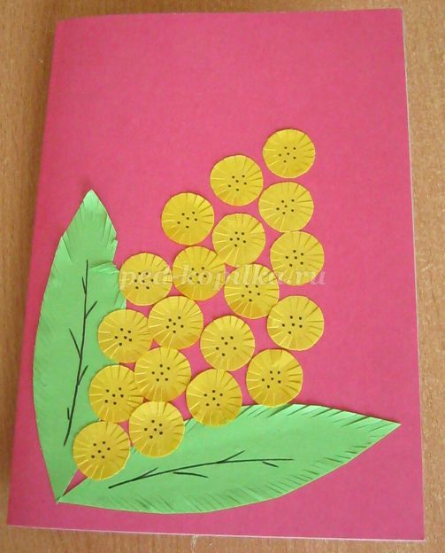 Поздравление, открытки на 8 марта детский сад средняя группа