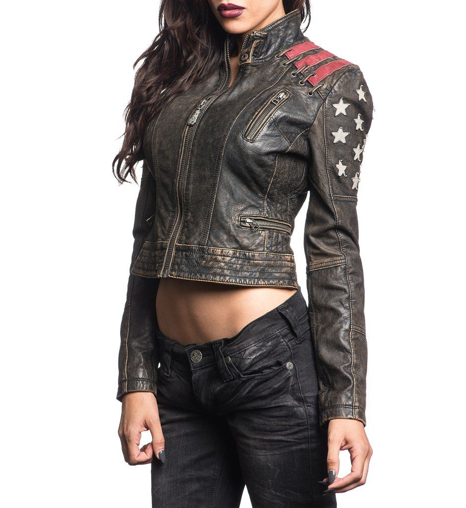 Steadfast Affliction Clothing Womens Jackets 4