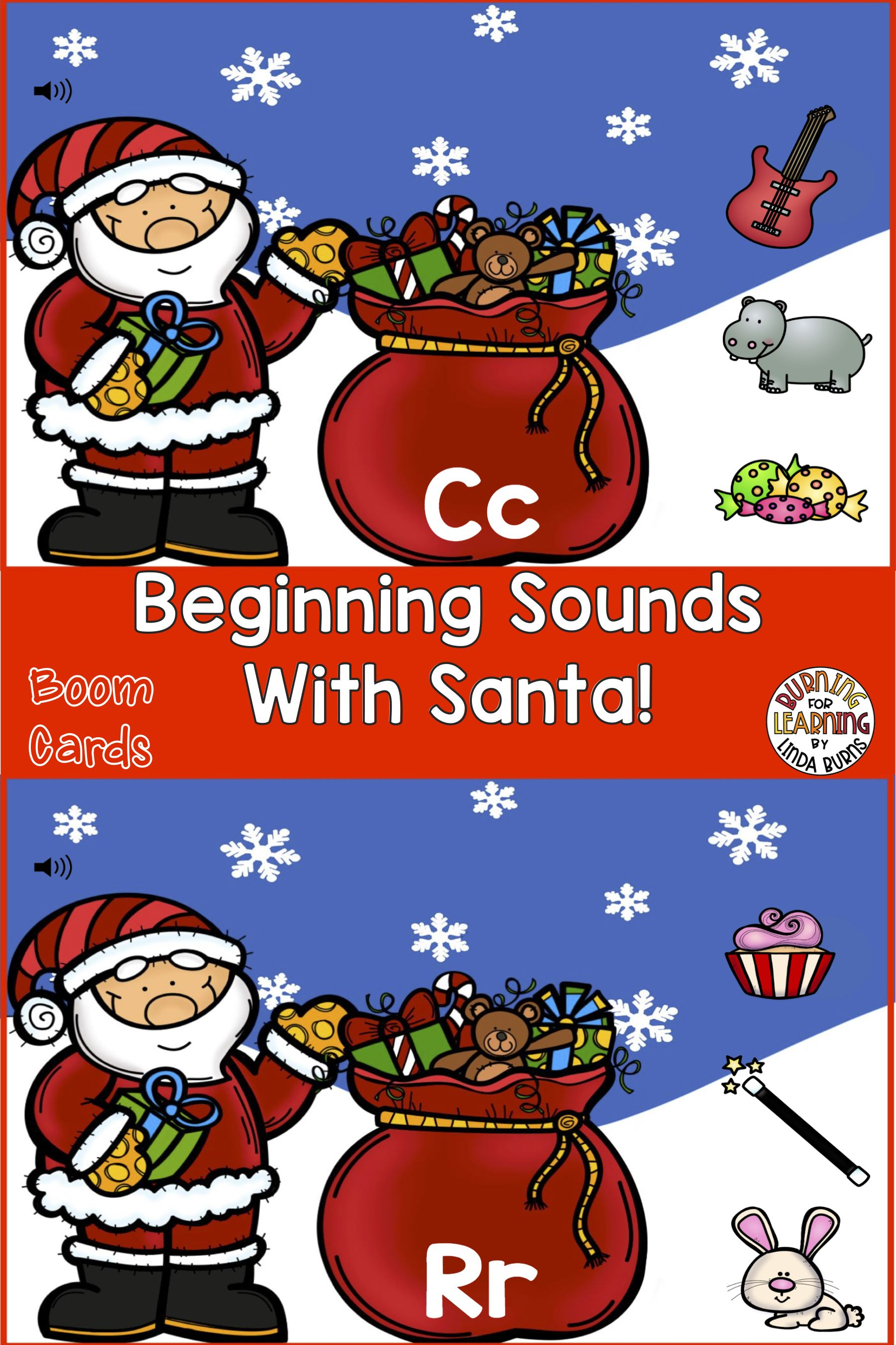 Beginning Sounds With Santa