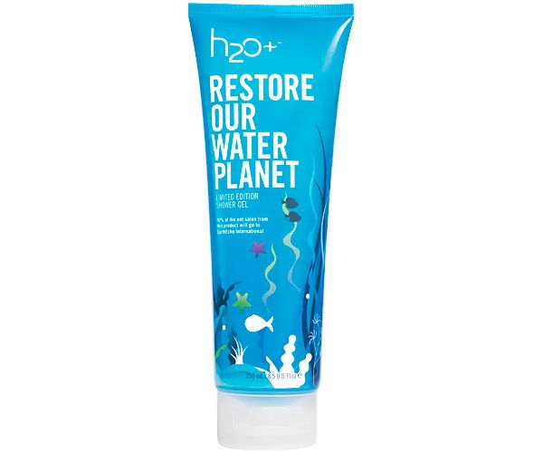 H2o Plus Restore Our Water Planet Shower Gel For World Oceans Day