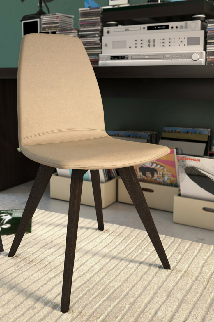 Yes, this chair looks quite simple. But you can customise it by ...