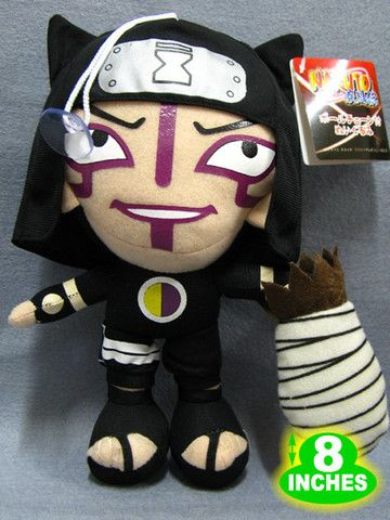 "Good Quality 8/"" Naruto Tsunade Plush Anime Ninja Stuff Doll Collectible NAPL0923"