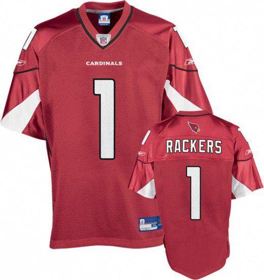 Neil Rackers Jersey, #1 Arizona Cardinals Authentic NFL Jersey in