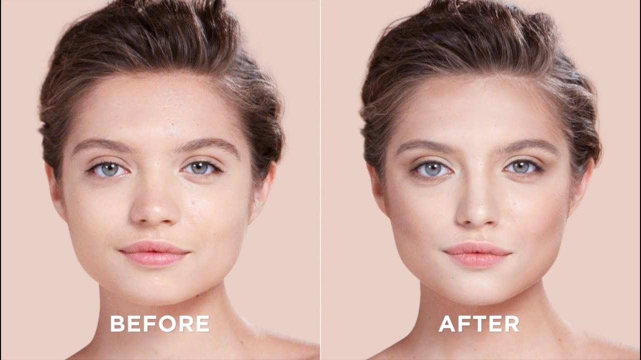 How To Contour Your Square Face Sephora Youtube With Images