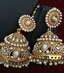 e1a51c420 Buy Ethnic Indian Bollywood Fashion Jewelry Set Traditional Jhumka Earrings  jhumka online