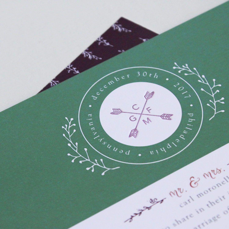 Cheap Letterpress Wedding Invitations |Inexpensive Wedding Invitations Letterpress