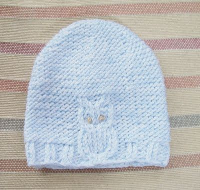 Sunflowers At Home Owl Hat Knit Crochet Baby And Children Hats