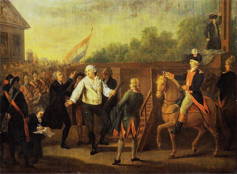 Louis XVI au pied de l'échafaud