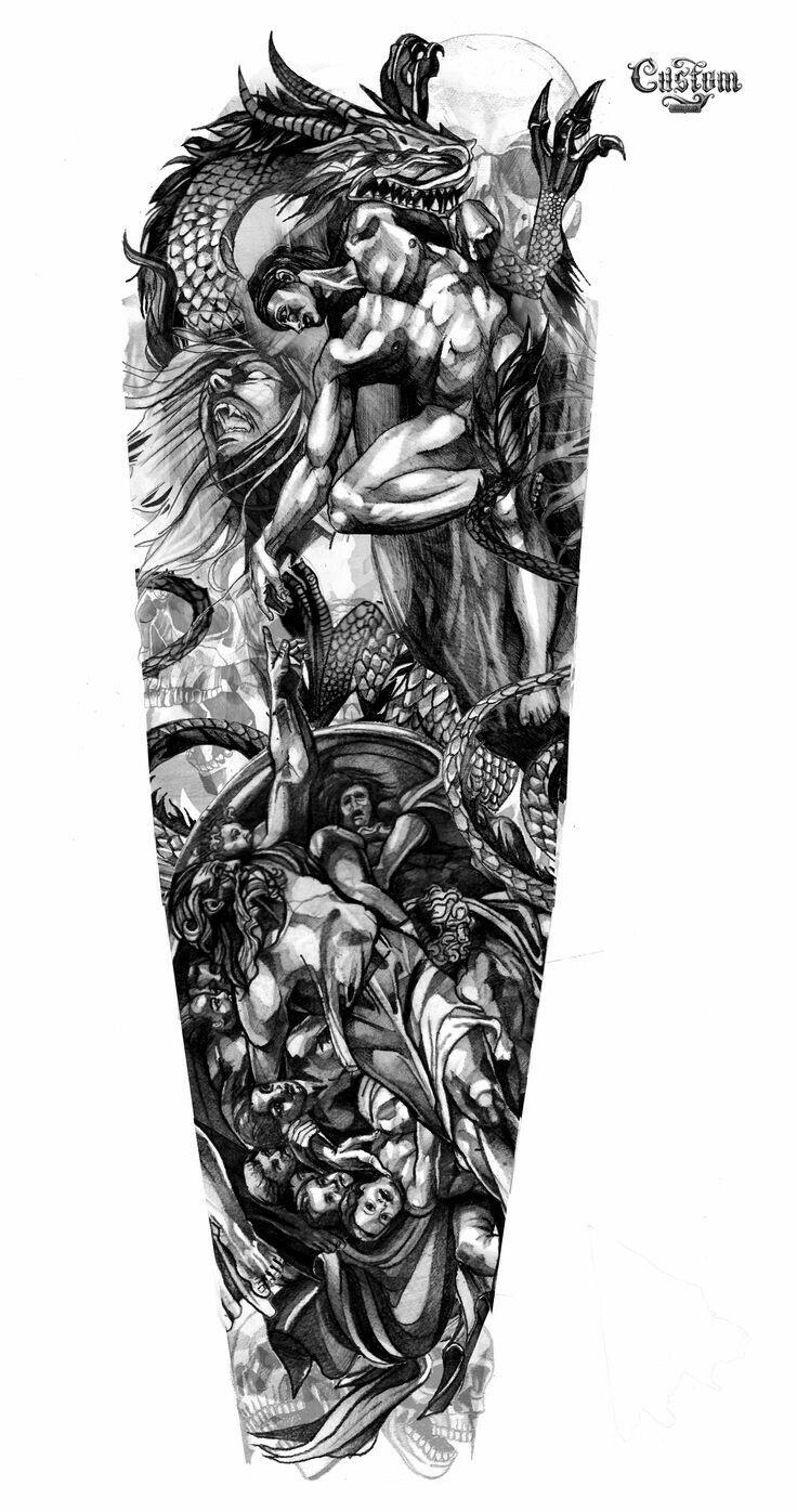 Line Drawing Tattoo Sleeve : Pin by leopardo on tattoo pinterest tatoos