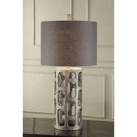Table Lamp With Shade On Off Cfl Bulb Included Tablelamps In 2019 Table Lamp Bulb Lighting