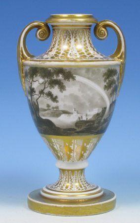 Coalport Antique Porcelain Vase The History Of Coalport Porcelain