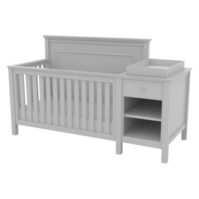 $449.99 - love the clean lines for this baby bed/changing table ...