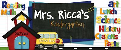 Mrs. Ricca's Kindergarten