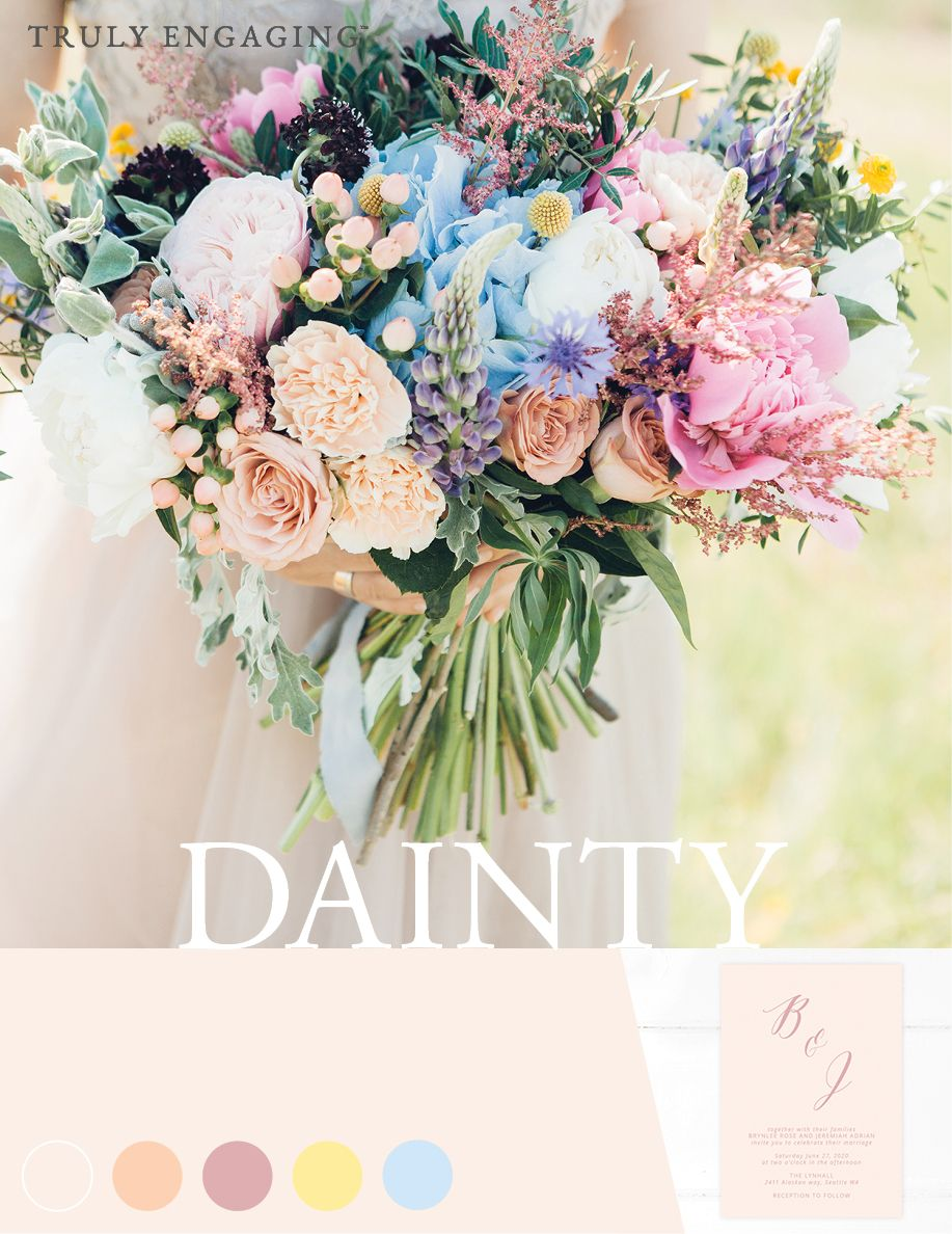 Top 2020 Wedding Color Trends Spring, Summer, Fall