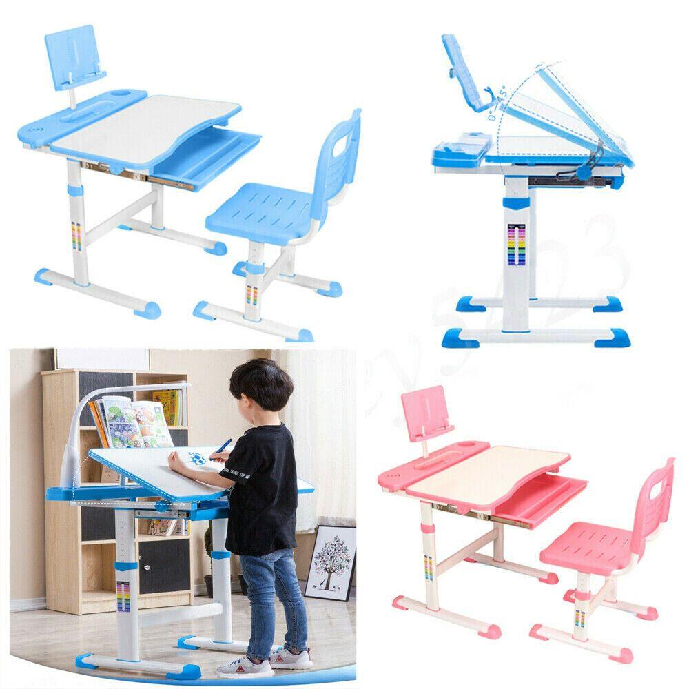 Awe Inspiring Ebay Sponsored Blue Pink Adjustable Childrens Desk Chair Interior Design Ideas Inesswwsoteloinfo