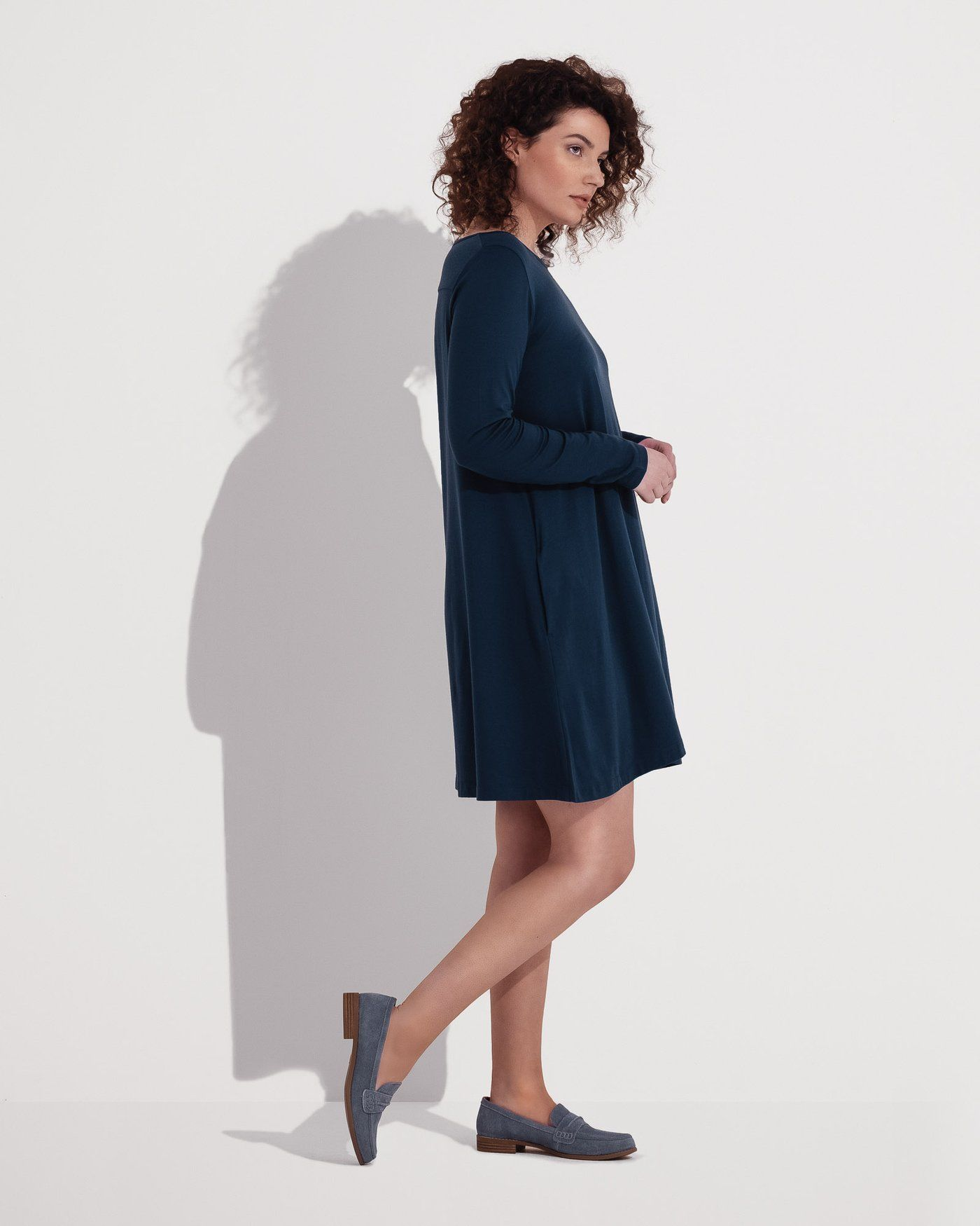 f394e66d7ab75 rowena merino wool swing dress - wool& | Shoes clothes accessories ...