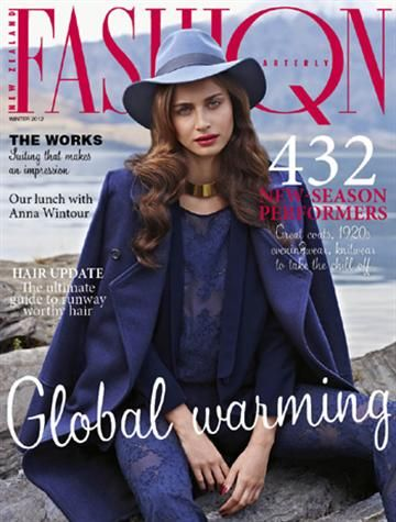 Fashion Quarterly Winter Cover