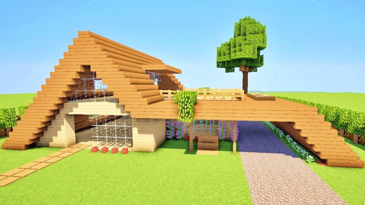 Minecraft Tuto Comment Faire Une Maison Moderne Facile A Faire Avec Maxresdefault Et Tuto Minecraft Maison Fa Minecraft Moderne Minecraft Tuto Maison Minecraft