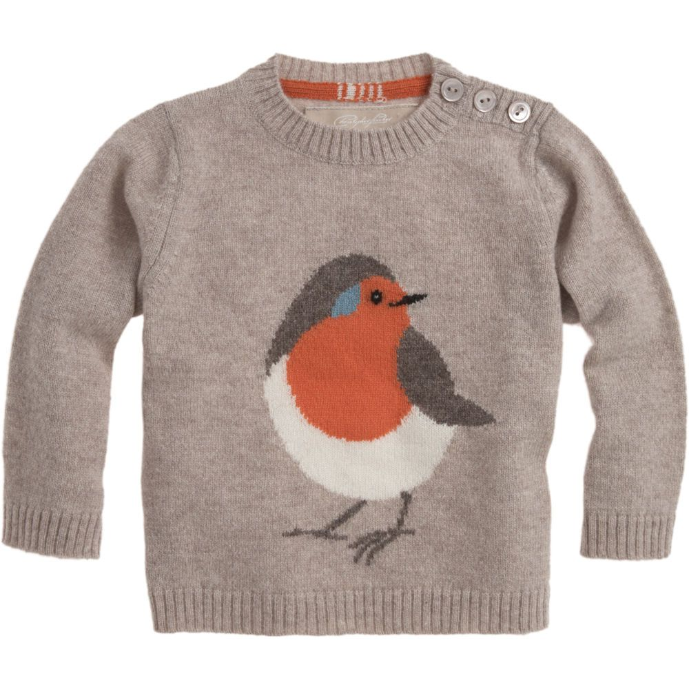 CHRISTOPHER FISCHER Robin Sweater