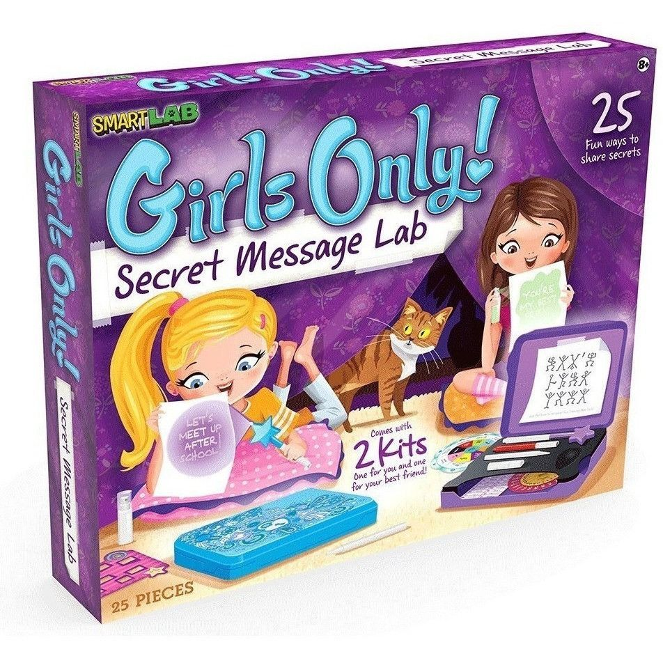 SmartLab Toys Girls Only! Secret Message Lab   Gift Ideas ...