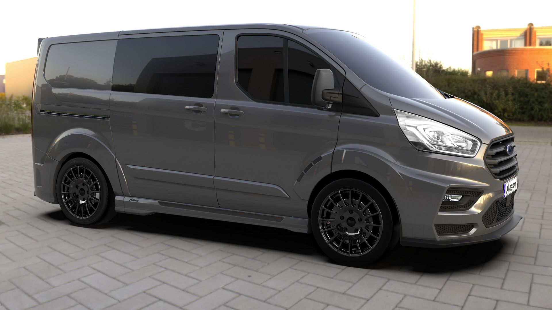 Mundo Quatro Rodas Ford Transit Custom By Ms Rt Arrives W