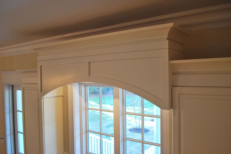 Kitchen Window Cabinet Valance Our Custom Shop Made This